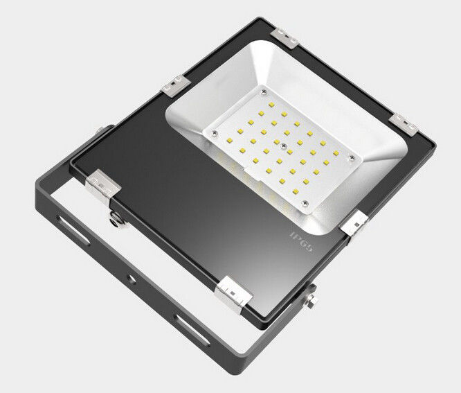 Wall Mounted Commercial Outdoor LED Flood Light Fixtures 30 Watts 50/60Hz Input